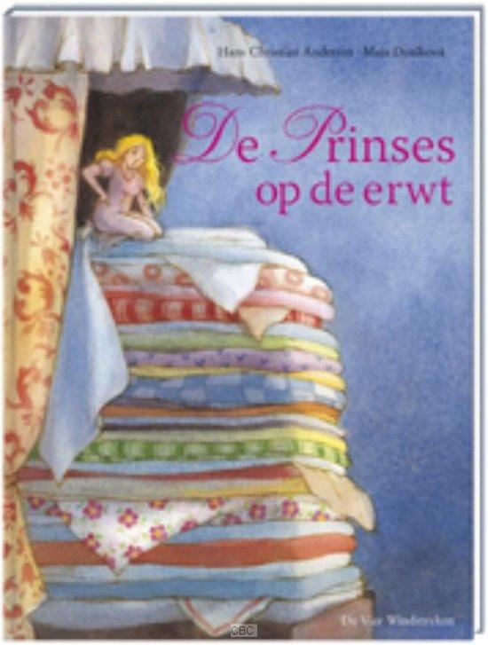 bol | de prinses op de erwt, h.c. andersen | 9789055798483 | boeken