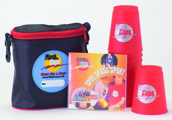 Afbeelding van het spel FlashCups Set met DVD - Rood