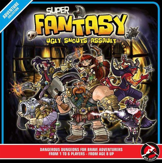 Afbeelding van het spel Super Fantasy: Ugly Snouts Assault Bordspel