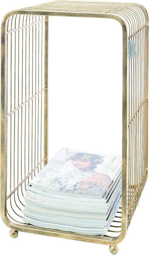 Riverdale Boston - Tijdschriftenrek - 62cm - goud