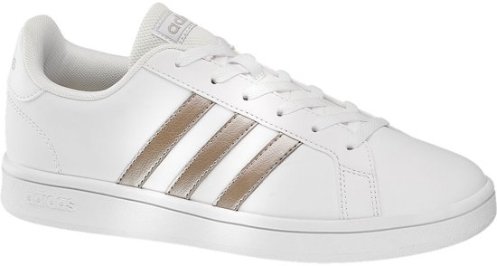 adidas Dames Witte Grand Court Base - Maat 39 1/3