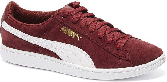 Puma Sneakers Dames Bordeau Rood