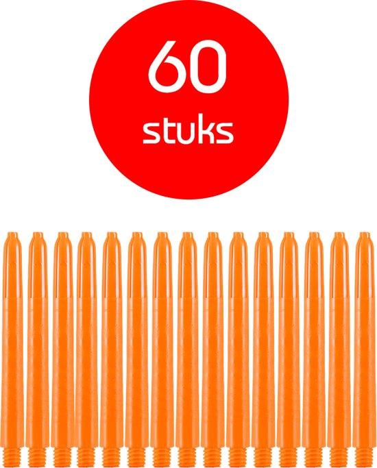 Dragon Darts - darts shafts - 20 sets (60 stuks) - medium - oranje - dart shafts - shafts