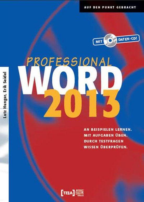 Word 2013 Professional