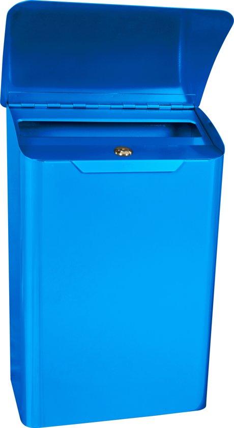 Wandbrievenbus Lugon - Blauw