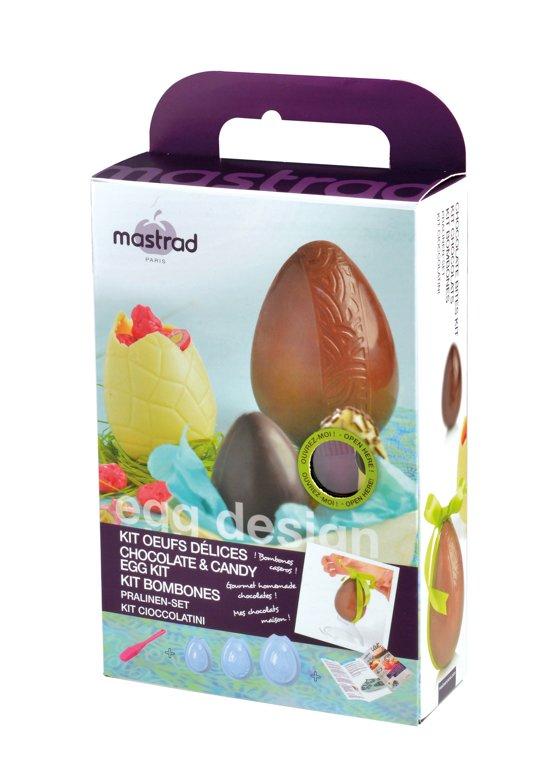 Chocolade Mal Set voor Chocolade Eieren - Mastrad