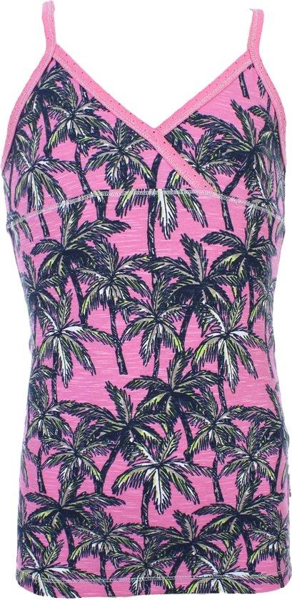 Claesens - Meisjes Top Palmbomen Roze - 128