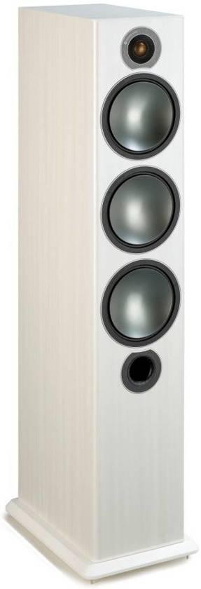 Monitor Audio Bronze 6 - Vloerstaande Speaker - Wit