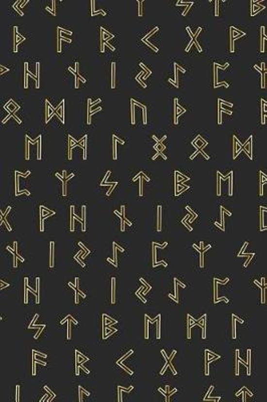 Viking Pattern - Yellow Runes