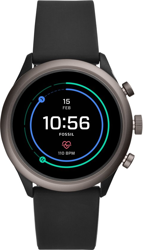 Fossil Sport Gen 4S FTW4019 - Smartwatch - Zwart