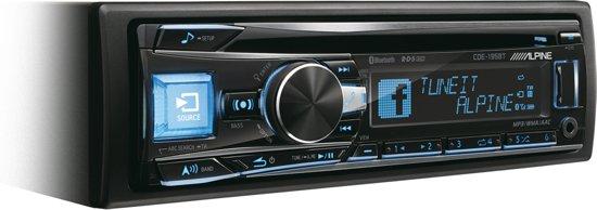 Alpine CDE-195BT 200W Bluetooth Zwart autoradio