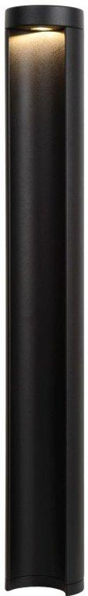 Lucide COMBO - Sokkellamp Buiten - Ø 9 cm - LED - 1x7W 3000K - IP54 - Zwart
