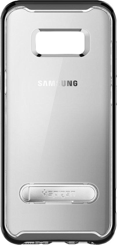 Spigen Crystal Hybrid Case Samsung Galaxy S8 Zwart in Haastrecht