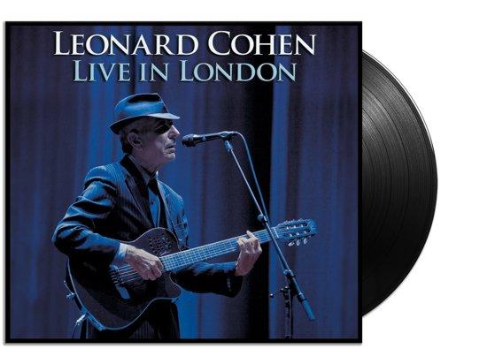 CD cover van Live In London (LP) van Leonard Cohen