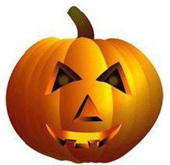 Pompoen Voor Halloween.Halloween Groot Decoratie Bord Pompoen