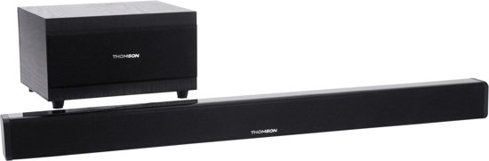 Thomson SB50BT Bluetooth Soundbar + Subwoofer - Zwart
