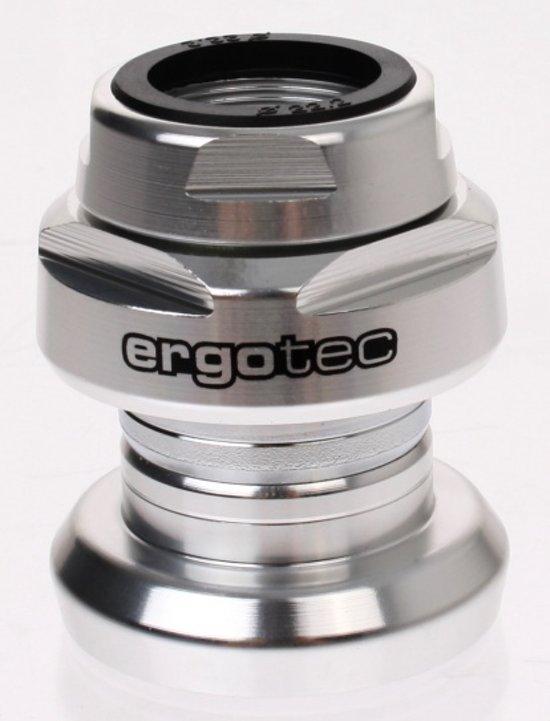 Ergotec Balhoofdstel 36,0mm Met Draad 1 Inch Alloy Zilver
