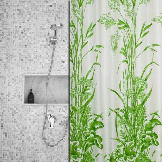 Roomture - douchegordijn - Grass- 120 x 200