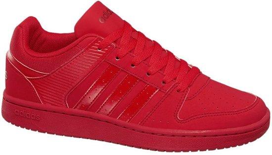 bol.com | Adidas Sneakers Neo Vs Hoopster Rood Dames Maat 39 1/3