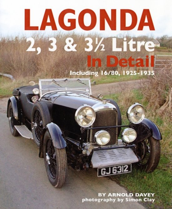 Lagonda 2, 3 & 3-1/2 Litre in Detail, 1925-35