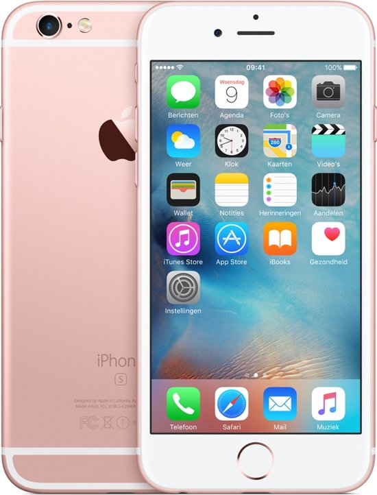 Apple iPhone 6s - 64GB - Roségoud