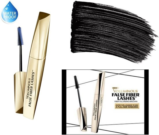 f98e58f88f1 L'Oréal Paris Voluminous False Fiber Lashes Waterproof Mascara - 290 Black