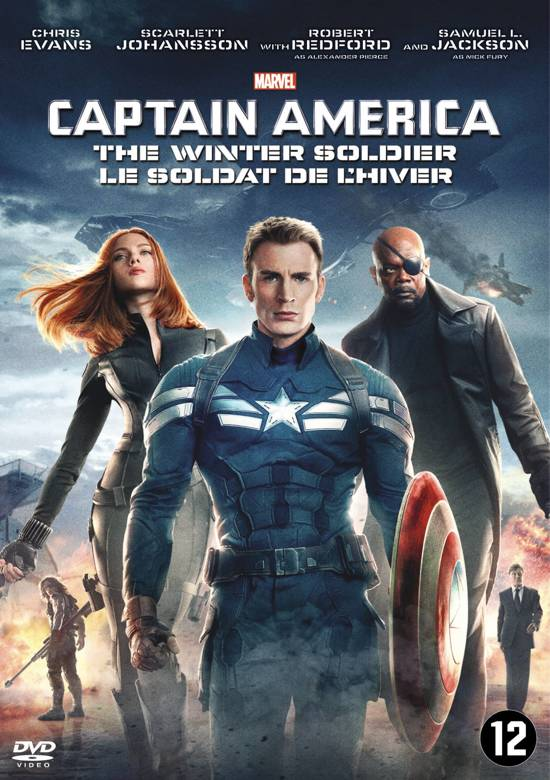 DVD cover van Captain America: The Winter Soldier