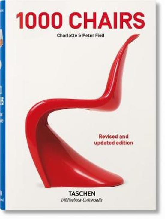 Boek cover 1000 Chairs. Updated version van Charlotte & Peter Fiell (Hardcover)