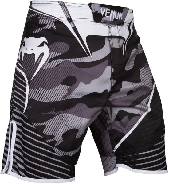 Venum Camo Hero Fightshorts - White/Black-XL