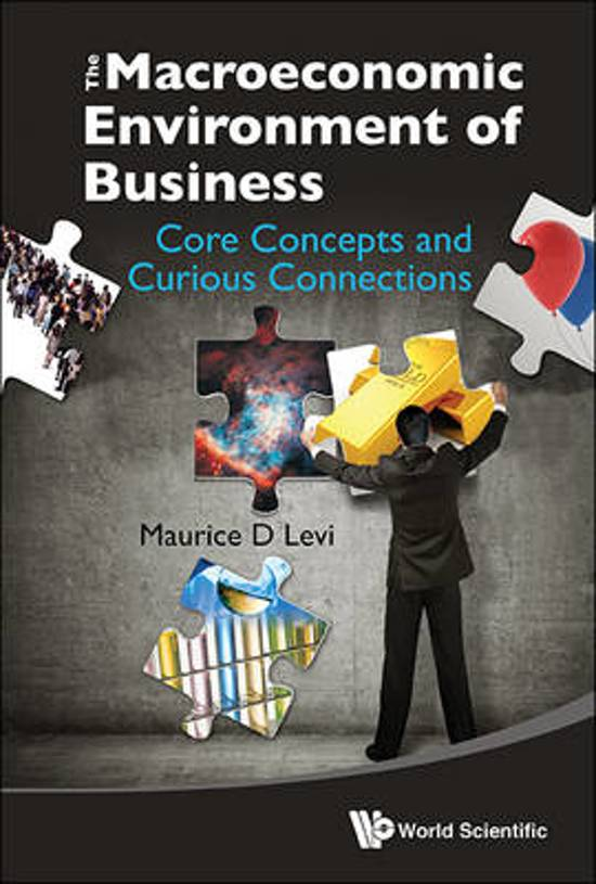 Macroeconomic Environment Of Business, The