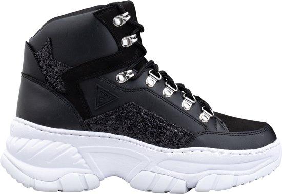 | Guess Bahaa Dames Sneakers Zwart Maat 36