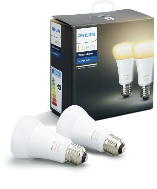 Philips Hue White Ambiance - Duopack - E27