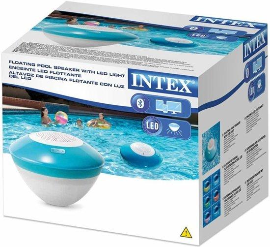 Intex Drijvende LED Speaker