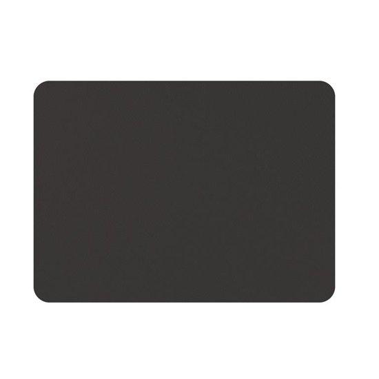 Mesapiu - Mesapiu Placemats lederlook - Zwart - rechthoek