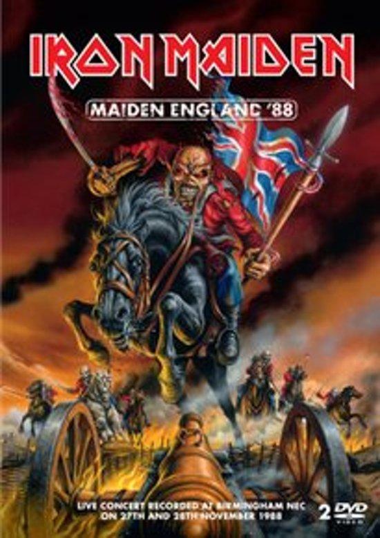 Cover van de film 'Iron Maiden - Maiden England '88'