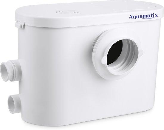 Aquamatix Silencio 3 - stille broyeur vermaler vergruizer