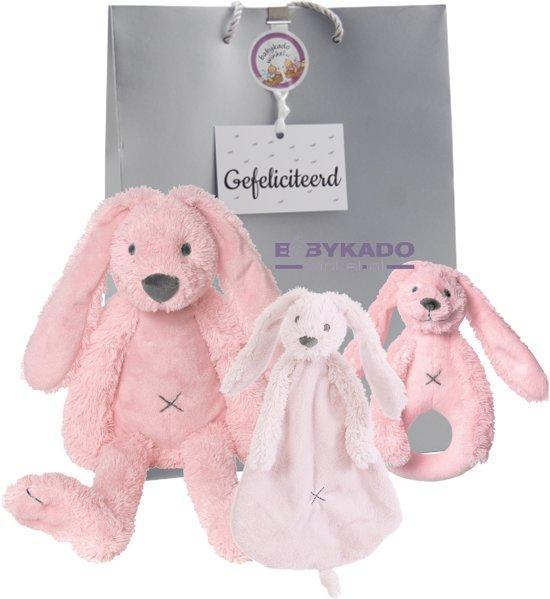 Babypakketje Rabbit Richie pink