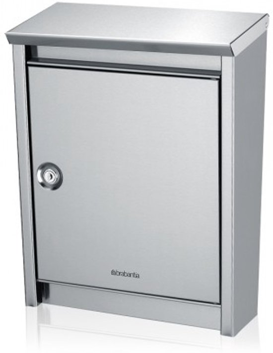 Brabantia B110 Brievenbus - Matt Steel Easy Clean