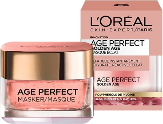 L'Oréal Paris Age Perfect Gezichtsmasker - 50 ml - Golden Age