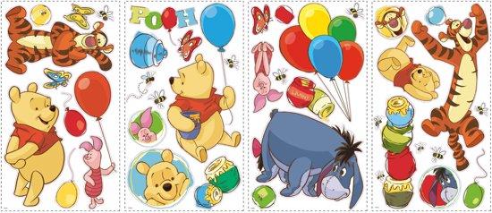 Muurstickers Babykamer Tijgertje.Bol Com Roommates Disney Winnie The Pooh Vrienden Muurstickers