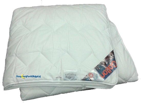 Cotton Comfort 4-seizoenen dekbed katoen  junior 120x150 cm.