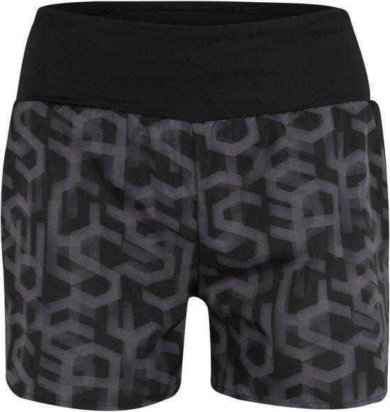 Asics sportbroek 3.5in short print Zwart-xl