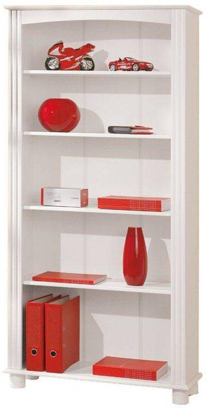interlink sas anke boekenkast wit hout