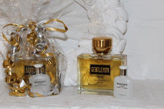 Gentleman Dark heren parfum (sterk kruidige herengeur die de gehele dag blijft ruiken)