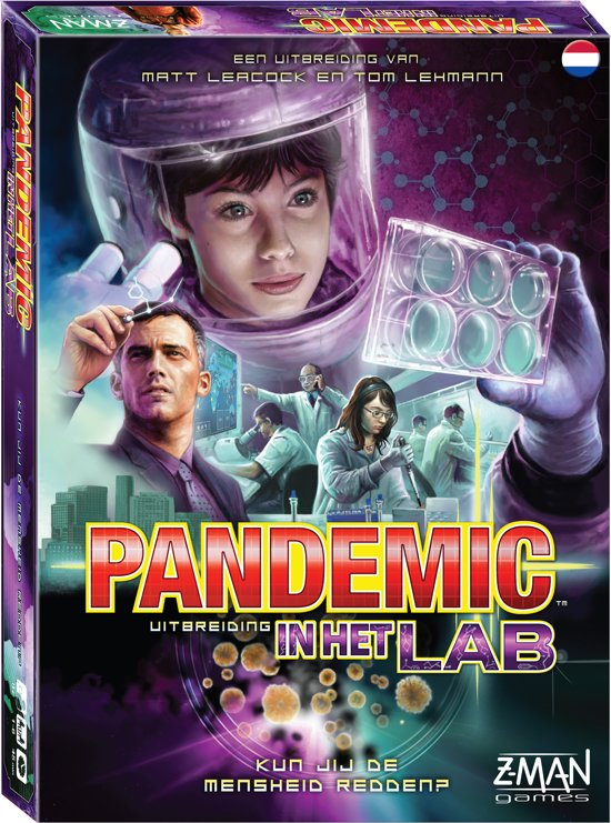 Afbeelding van het spel Pandemic In Het Lab - Uitbreiding