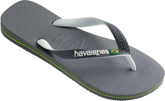 Grey Mix white Brasil Havaianas white Unisex Steel Slippers qFZKzwp