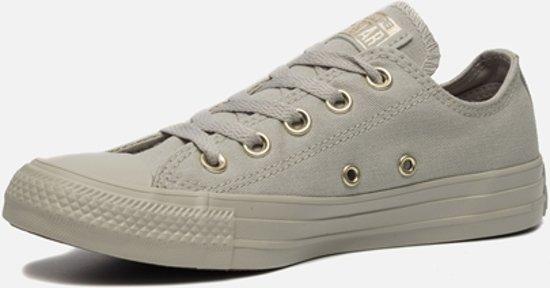 Converse As Ox Sneaker laag gekleed Dames Maat 37,5 Grijs;Grijze Pale GreyPale GreyGold
