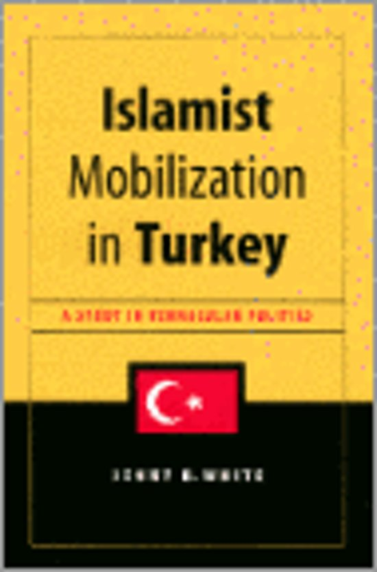 Boek cover Islamist Mobilization in Turkey van Jenny White (Hardcover)