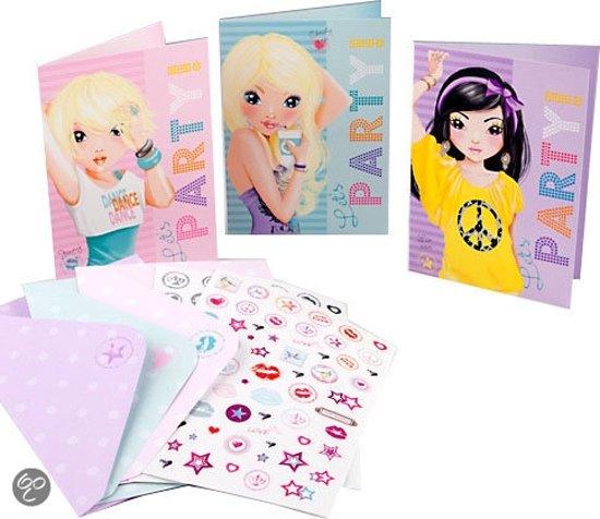 topmodel uitnodigings kaarten depesche speelgoed