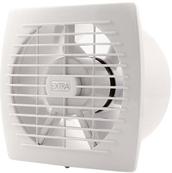 bol.com | Badkamer ventilator diameter 150 mm WIT - basis E150